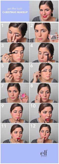 how to: CHRISTMAS MAKEUP    http://www.eyeslipsface.com/blog.asp?blog_id=1001209=1