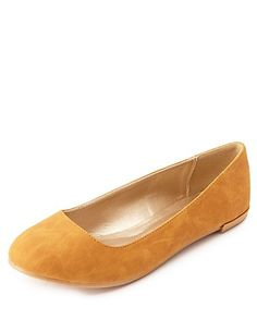 Essential Round Toe Ballet Flats: Charlotte Russe
