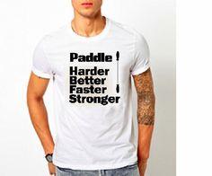 Kayak Paddle Tshirt / For Sale on Etsy  #KanyeWest #KendrickLamar #Boating #DaftPunk #Kayaking #Funny