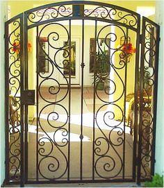 Ornamental Iron Gates | Wrought Iron Decorative Gate