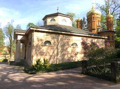 Fürstengruft Friedhof Weimar / mit dem Sarg von Goethe und Schiller / Schillers Sarg ist leer
