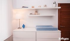 #proyectoserraiarola #iloftyou #interiordesign #ikea #barcelona #lowcost #babyroom #malm #lack #enje #jara