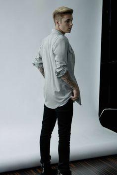 Justin Bieber recent photo shoot