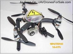 AMAZING! Minitrino (Y4-Y6) UFO FPV UAV Drone, Carbon Frame, Speed Control and Camera Mount. http://uavdronesforsale.com/index.php?page=item=93