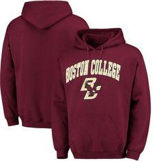 Fanatics Branded Boston College Eagles Campus Pullover Hoodie - Maroon
