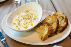 Chef Secrets: How To Make the Perfect Stracciatella Cheese | Zagat Blog