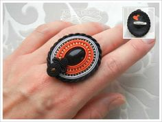 Check out our rings selection for the very best in unique or custom, handmade pieces from our shops. Soutache Earrings, Ring Earrings, Shibori, Rings Cool, Luxury Jewelry, Jewelry Crafts, Jewerly, Beads, Bracelets