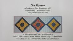Nov 18 - CHIC FLOWERS RUNNER www.sergesew.com
