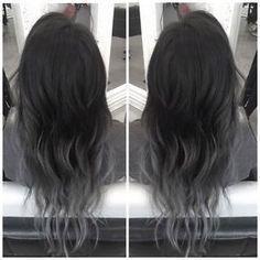 black grey balayage - Google Search