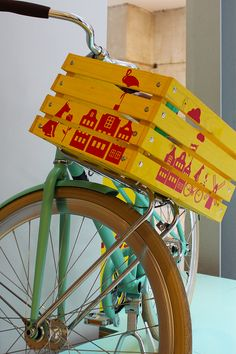 Design your own Bos Ice tea fietskrat and win this cool bicke!