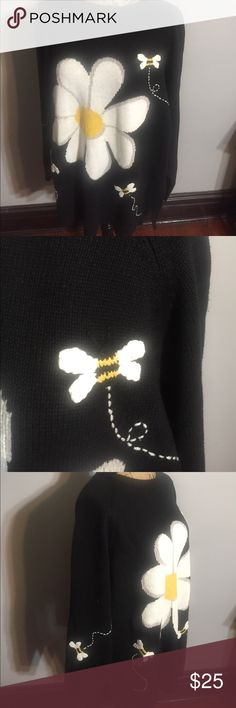 """The Factory Sweater 45 percent Cotton, 55 percent Ramie,  Sleeves 28"""", Pit to Pit 25 1/2"""", Length 31"""" Sweaters"""
