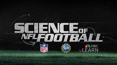 Words, Science of NFL Football, and NFL, NSF and NBC Learn logos