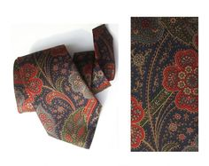 Wedding necktie vintage groom's tie silk neckties by MensSilk