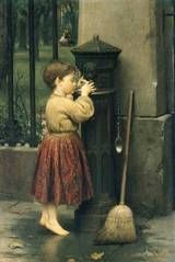 The Crossing Sweeper (1862), Seymour Joseph Guy