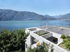 Haus aus Beton von Wespi de Meuron Architekten in der Schweiz