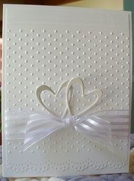 Browse 25 card making tutorials for beautiful handmade wedding cards. These DIY cards are perfect for any happy couple on their big day! Wedding Cards Handmade, Greeting Cards Handmade, Simple Wedding Cards, Handmade Engagement Cards, Handmade Wedding Invitations, Personalized Wedding, Wedding Shower Cards, Diy Wedding Cards, Homemade Wedding Cards