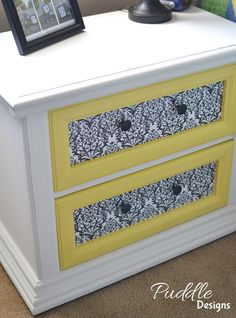 DIY furniture painting tips, This would be a great way to spruce up old dressers or make mismatched furniture match