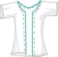 http://funxnd.info/?1325966    To create the tshirt bolero.  1. Grab a shirt  2. cut along the red line and cut off neck band.  3. Turn shirt inside out and fold 1 inch along the red line to form the casing.  4. Pin and sew  5. Pull the ribbon through the casing using a safety pin. Pull tight and tie. schylene