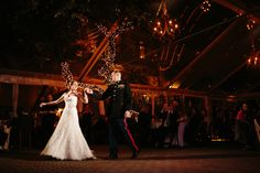 Gorgeous outdoor winter weddings are no problem at the Allan House in Austin, TX.