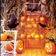 Fall Party decorating with Pumpkins Fall Party Decorating Ideas