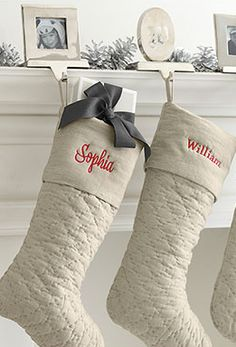 Chic stockings #xmas