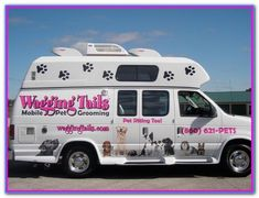 used mobile grooming van truck and trailer conversion ads