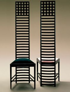 SCANDINAVIAN COLLECTORS - CHARLES RENNIE MACKINTOSH, The Hill House Chair,...