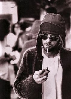 "KURT COBAIN. ""better to burn out than fade away"""