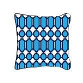 Found it at AllModern - Hollywood Lattice Cotton Throw Pillow