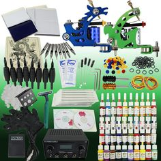Tattoo Kit 2 Machine Kit