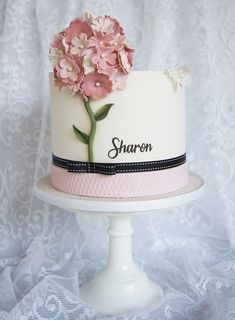 Sharon Birthday Cake - SugarEd Productions Online Classes
