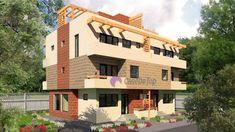 Model 138mp | Case de top Duplex House, Multi Story Building, Street View, Mansions, House Styles, Houses, Home Decor, Sun, Homes
