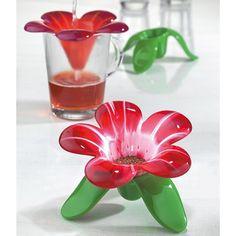 Flower tea-strainer. Koziol -Audrey