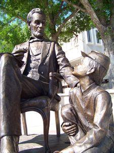 City of Presidents, Rapid City, South Dakota. Abraham Lincoln Bronze Sculpture, Sculpture Art, Sioux, Nebraska, Wyoming, Missouri, Rapid City South Dakota, Montana, William Henry Harrison