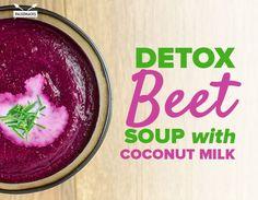 Detox Beet Soup with Coconut Milk