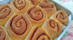 Da Panela para o Coração : Rolos de canela (cinnamon rolls)