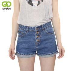 5b812c0d90f GOPLUS 2017 Short Jeans Fashion Brand Summer Style Women Shorts Loose  Cotton Casual female Slim High Waist Denim Shorts C1082-in Shorts from  Women's ...
