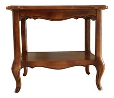 Ethan Allen French Country End Table on Chairish.com