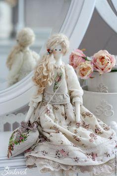Купить Лорейн - тильда, tilda, кукла текстильная, кукла интерьерная, кукла ручной работы