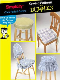 CHAIR & STOOL Covers Sewing Pattern ~ SOLD!