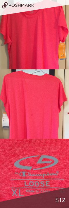 7c6ed5b88 NWT C9 by Champion Active loose fit tee XL coral NWT C9 by Champion duo dry