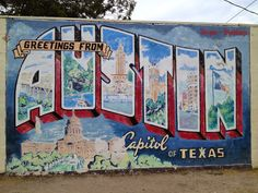 Pictures with Murals of Austin