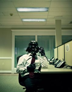 how can u say no to Darth Vader as a coworker?