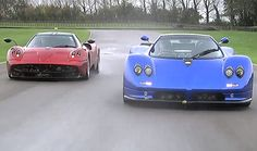 Pagani Huayra and Zonda compared by the owner of them both.