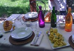 """""""The shady veranda serves as the perfect setting for our lunch al fresco"""" - """"Learning how to make pasta in Italy"""" by @Changes_Long"""