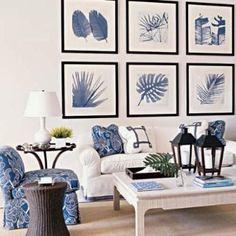 Love the blue/white color scheme