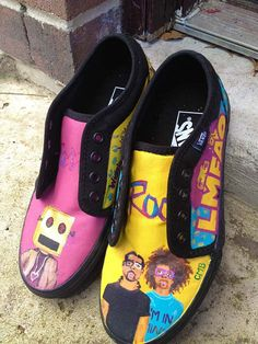 LMFAO Custom Vans by CMBreverie on Etsy