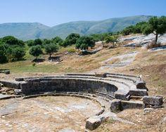 Orikum - remains of ancient Roman town.