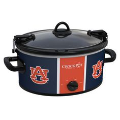 Auburn Tigers Collegiate Crock-Pot® Cook & Carry™ Slow Cooker