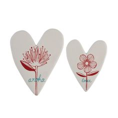 AROHA SKETCH HEARTS – Kiwi Collections